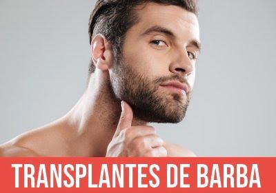 transplantes de barba