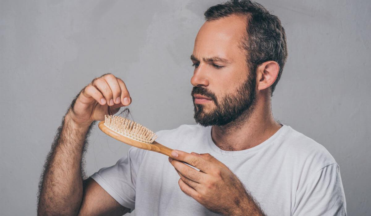 أسباب تساقط الشعر عند الرجال - zty health